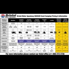 2021 Bristol Camping Options