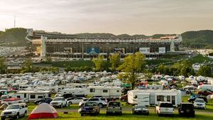 Camping At Bristol
