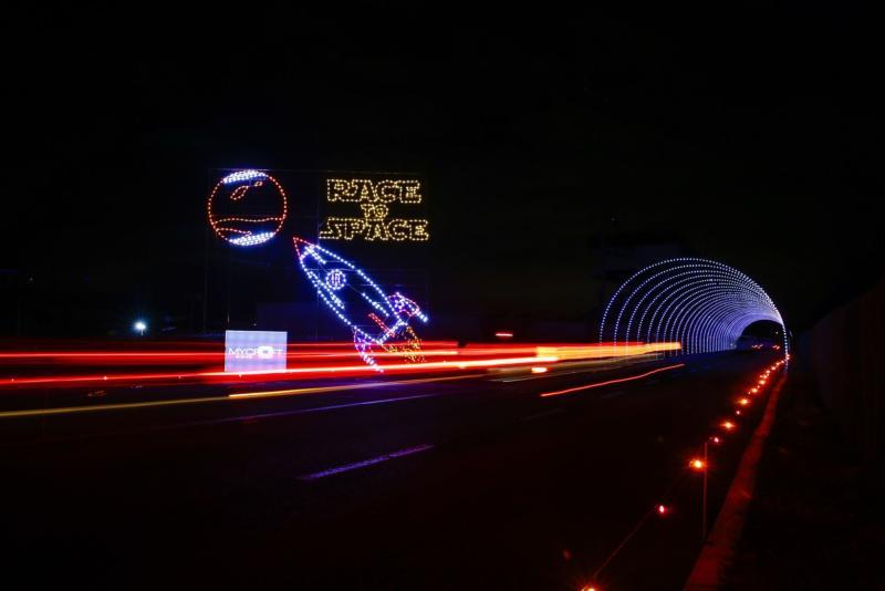 Pinnacle Speedway in Lights