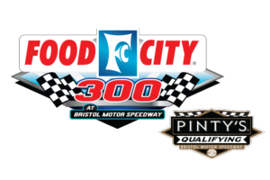 Food City 300 <span class=presented>& Pinty's Qualifying</span> Logo