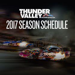 2017 Dragway Schedule Release