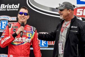 Kyle Busch driver intros