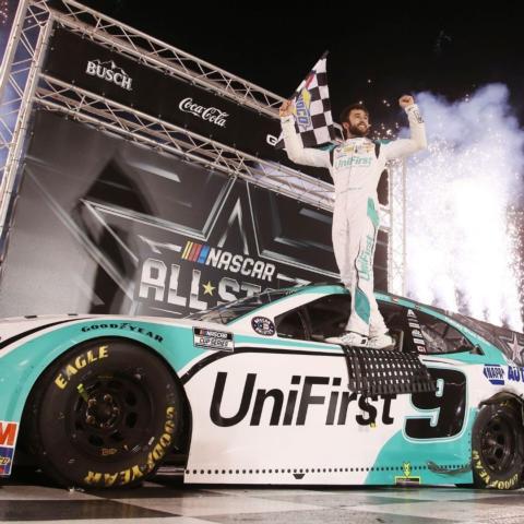 Chase Elliott won the NASCAR All-Star race at BMS in 2020.