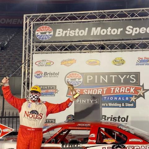 Trevor Noles won the Super Late Model division.