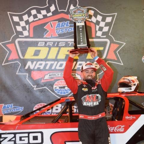 Austin Dillon won the 604 Late Model winner
